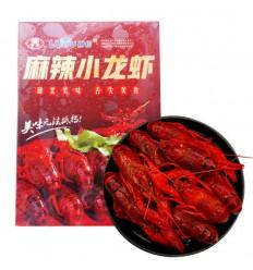 (限寄德法部分地区) 柳伍*麻辣小龙虾 4-6 750g Frozen Cooked Whole Crayfish