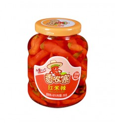香农寨*红米辣 300g Red preserved chili