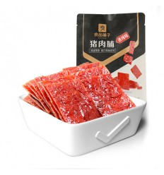 良品铺子*猪肉脯自然片*香辣味 100G Liangpin Shop * Natural Sliced ​​Pork Breast * Sesame Flavor 100G