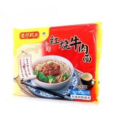 (限寄德法部分地区) 湾仔码头*红烧牛肉面 325g Braised beef noodles