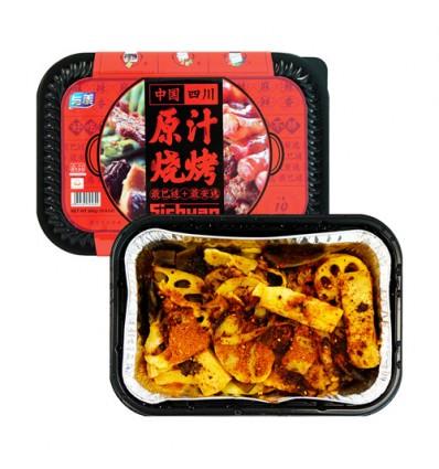 与美*中国四川原汁烧烤 306g Preserve vegetables