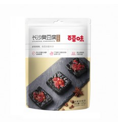 百草味*长沙臭豆腐*烧烤味 125G Baicaowei Snakes