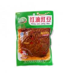汉超红油豇豆(袋装) Preserved Beans 180g