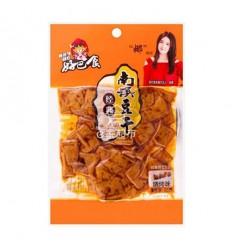 好巴食*南溪经典豆干*烧烤味(橙) 68g Spicy tofu