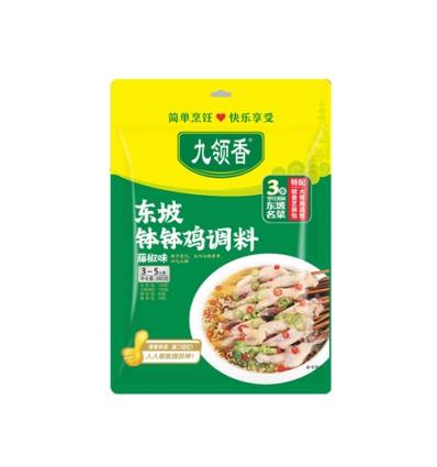 九岭香*东坡钵钵鸡调料*藤椒味 360g Qiaotou chicken Spice
