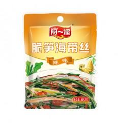 阿一波*脆笋海带丝*辣味 80g seaweed strips