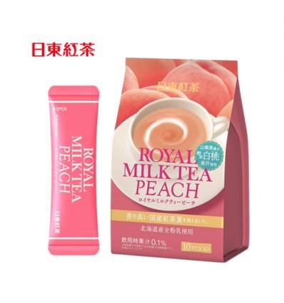 日本日东红茶皇家奶茶蜜桃味 140g milk tea