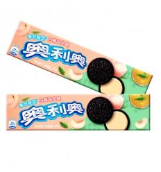奥利奥夹心饼干*白桃乌龙味 97g crackers