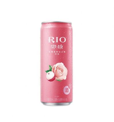 Rio微醺*玫瑰荔枝白兰地鸡尾酒*荔枝红 330ml Cocktail