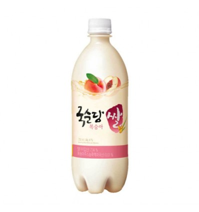 Makgeolli*韩国米酒*蜜桃味 750ml Rice wine
