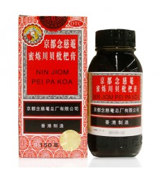 京都念慈菴*蜜炼川贝枇杷膏 300ml Honey Refined Chuan Bei Loquat Paste