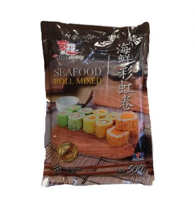 (A区)泰一小鱼杨(鱼豆腐)200g Thai Fried Fish Tofu 约200g