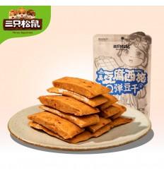 三只松鼠*老爹鱼豆腐*烧烤味 180g szss snacks