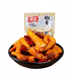 有友*泡凤爪*山椒味 80g Chicken claw