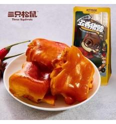 三只松鼠*香辣猪蹄 180g szss snacks