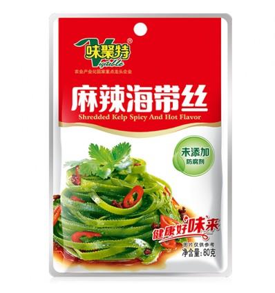 味聚特麻辣海带丝 80g seaweed strips