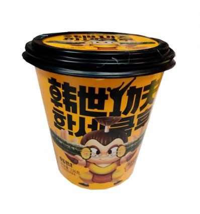 (红罐)韩世*海苔卷卷脆*意式红烩味 136g hanshi snacks