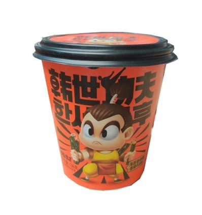 (蓝罐)韩世*海苔卷卷脆*日式鲜烩味 136g hanshi snacks