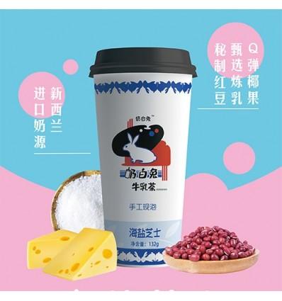 奶白兔*牛乳茶*白桃乌龙味 117g milk tea
