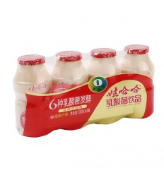 娃哈哈*乳酸菌饮品*4瓶*100ml Lactobacillus drinks