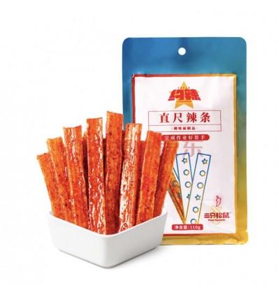 三只松鼠*豆腐西施*千页豆腐*烧烤味 120g szss snacks