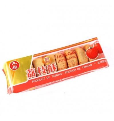 台湾九福荔枝酥 Lichi Cracker 227g