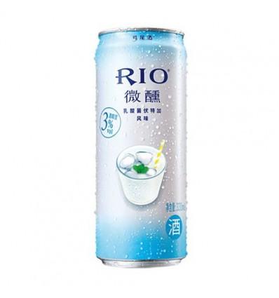 (易拉罐) Rio微醺*紫葡萄白兰地鸡尾酒*红 330ml Cocktail