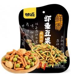 甘源鲜虾味虾条豆果 Cracker 75g
