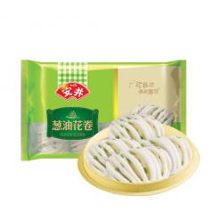 (A区)安井*葱油花卷*8个装 300g anjoy food