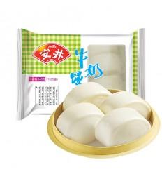 (A区)安井*牛奶馒头*12个装 240g anjoy food