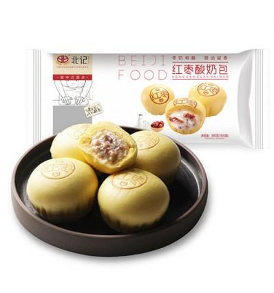 (A区)北记*红枣酸奶包 300g beiji food