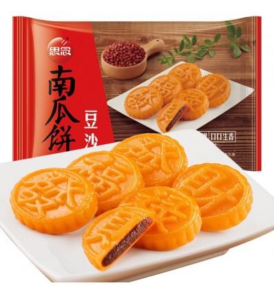 思念南瓜饼 香糯豆沙馅 pumpkin pie 200g 8个