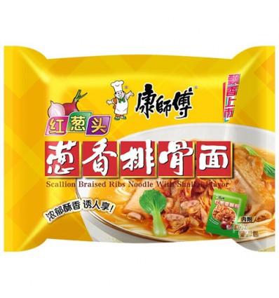 康师傅*黑胡椒铁板牛排面 102g noodles