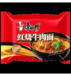 康师傅*红葱头葱香排骨面 107g noodles