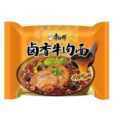 康师傅*辣卤香牛肉面 107g noodles