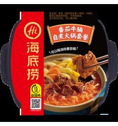 海底捞麻辣嫩牛自煮火锅套餐 Sichuan Spicy Hot Pot 435gr