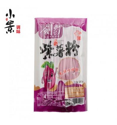 粮之髓*紫薯宽粉*湿粉 180g Purple Sweet Potato Noodles