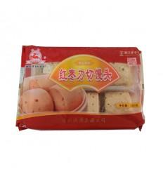 (A区)快鹿*红枣刀切馒头6个装 350g kuailu food