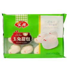 (A区)安井*玉兔甜包*12个装 300g anjoy food