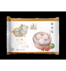 (A区)味美*鲜肉包*12个装 400g weimei food