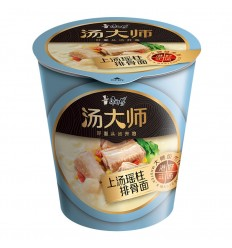 (粉杯)康师傅*汤大师*精炖番茄牛腩面 84g noodles