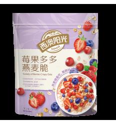 西澳阳光*多种水果燕麦脆*10小包 450g crispy oats