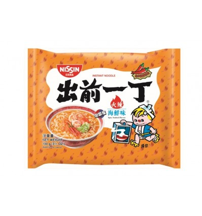 出前一丁海鲜面 Nissin Seafood Flavour Noodles 100g