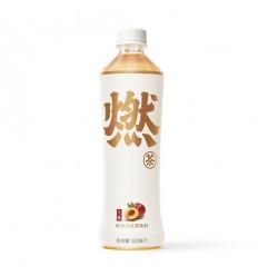 燃茶*无糖玄米乌龙茶 500ML Burning Tea* Sugar-Free Black Rice Oolong Tea 500ML