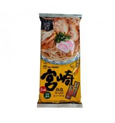 日本熊本*拉面*黑麻油猪骨味*1人份 123g noodles