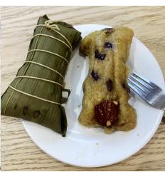 (A区)粤味 广东红豆粽子(甜) Zongzi 2个
