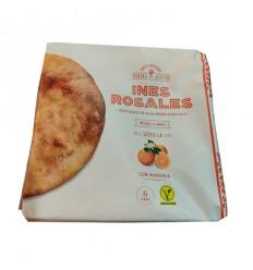 (蓝白)西班牙特产Ines rosales*手工橄榄油薄饼*原味无糖 180g cracker