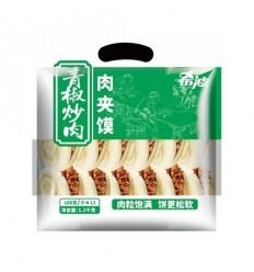 (A区)希波*肉夹馍*青椒炒肉*12个装 1.2Kg Roujiamo
