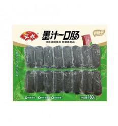 (A区)安井*墨汁一口肠 160g anjoy food