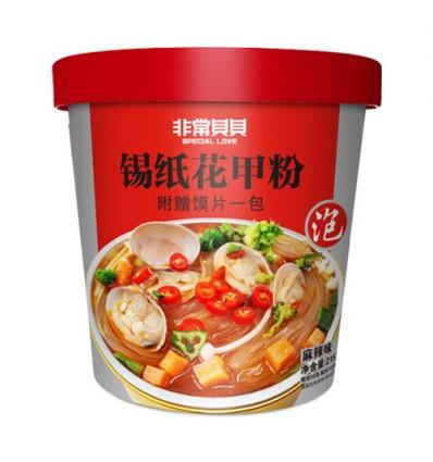 食族人*锡纸花甲粉 145g Aberzai*duck sausage vermicelli